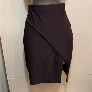Pencil skirt with slit size small